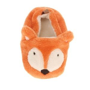 Shoes | Nwt Baby Fox Slippers Prewalk